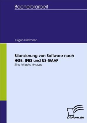 Bilanzierung von Software nach HGB, IFRS und US-GAAP