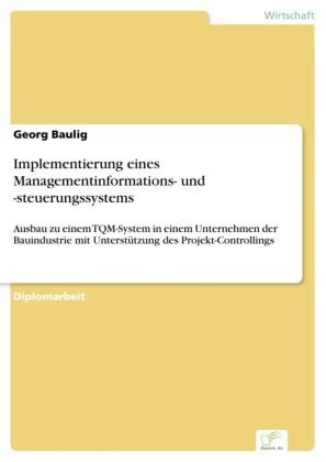 Implementierung eines Managementinformations- und -steuerungssystems