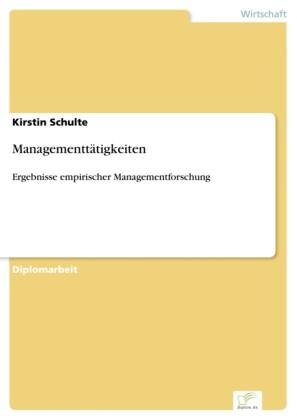 Managementtätigkeiten