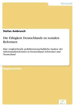 Die Fähigkeit Deutschlands zu sozialen Reformen
