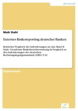 Externes Risikoreporting deutscher Banken