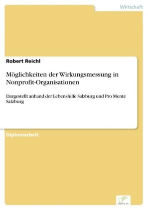 Möglichkeiten der Wirkungsmessung in Nonprofit-Organisationen