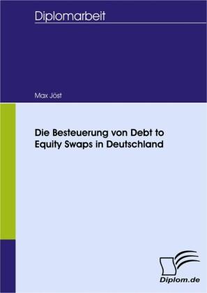 Die Besteuerung von Debt to Equity Swaps in Deutschland