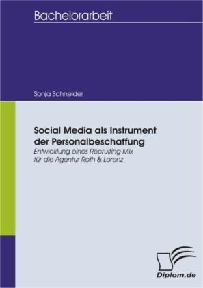 Social Media als Instrument der Personalbeschaffung