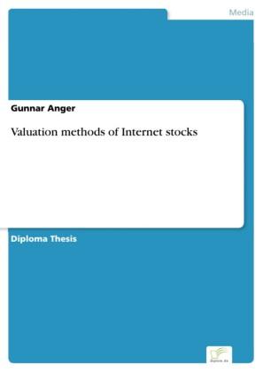 Valuation methods of Internet stocks