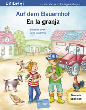 Auf dem Bauernhof, Deutsch-Spanisch;En la granja Cover