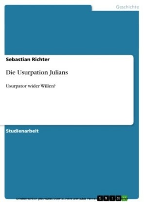 Die Usurpation Julians