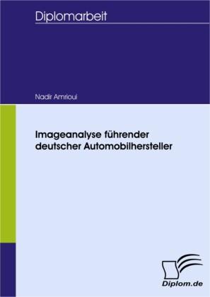 Imageanalyse führender deutscher Automobilhersteller