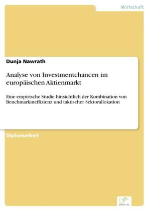 Analyse von Investmentchancen im europäischen Aktienmarkt