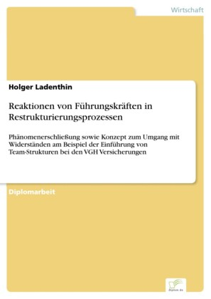 Reaktionen von Führungskräften in Restrukturierungsprozessen