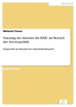 Nutzung des Internet für KMU im Bereich der Servicepolitik