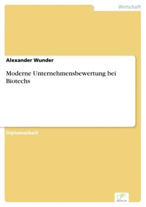 Moderne Unternehmensbewertung bei Biotechs