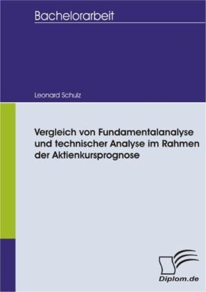 Vergleich von Fundamentalanalyse und technischer Analyse im Rahmen der Aktienkursprognose