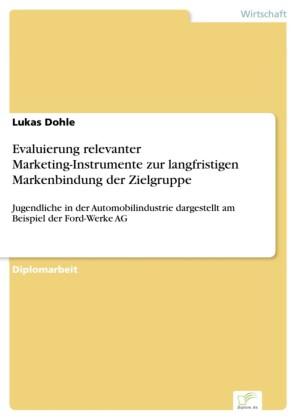 Evaluierung relevanter Marketing-Instrumente zur langfristigen Markenbindung der Zielgruppe