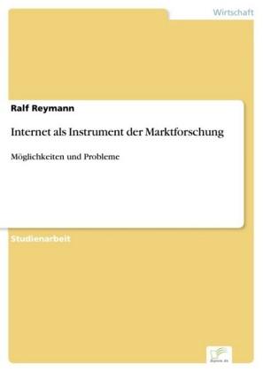 Internet als Instrument der Marktforschung