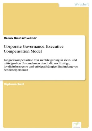 Corporate Governance, Executive Compensation Model