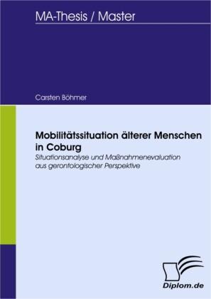 Mobilitätssituation älterer Menschen in Coburg