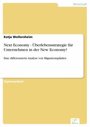 Next Economy - Überlebensstrategie für Unternehmen in der New Economy?