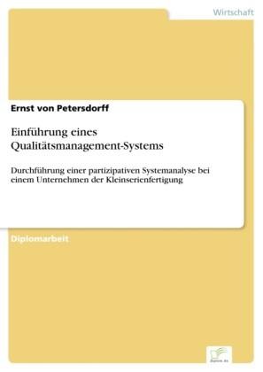 Einführung eines Qualitätsmanagement-Systems