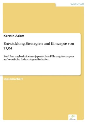 Entwicklung, Strategien und Konzepte von TQM