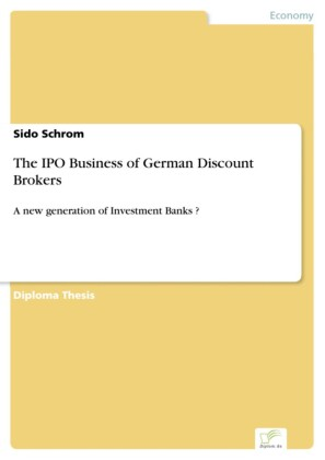 The IPO Business of German Discount Brokers