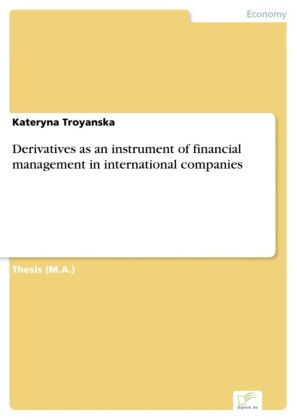 Derivatives as an instrument of financial management in international companies