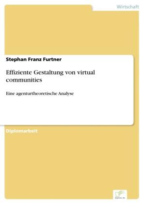 Effiziente Gestaltung von virtual communities