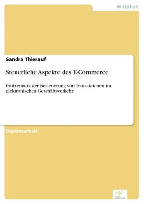 Steuerliche Aspekte des E-Commerce