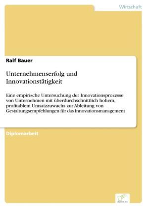 Unternehmenserfolg und Innovationstätigkeit