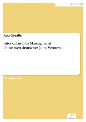 Interkulturelles Management chinesisch-deutscher Joint Ventures