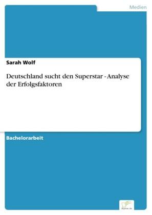 Deutschland sucht den Superstar - Analyse der Erfolgsfaktoren