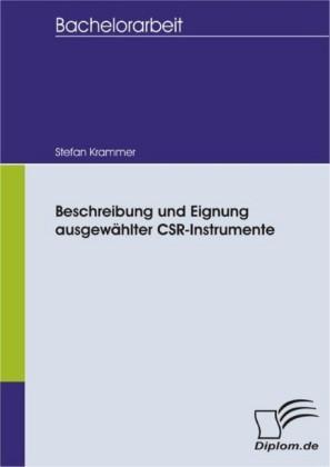 Beschreibung und Eignung ausgewählter CSR-Instrumente