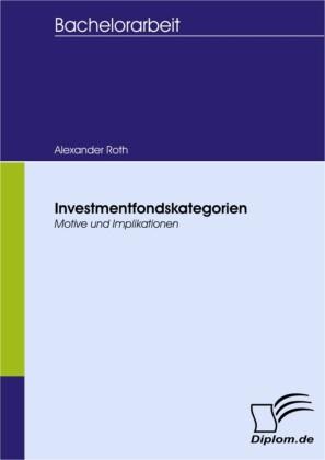 Investmentfondskategorien - Motive und Implikationen