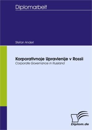Korporativnoje Upravlenije v Rossii