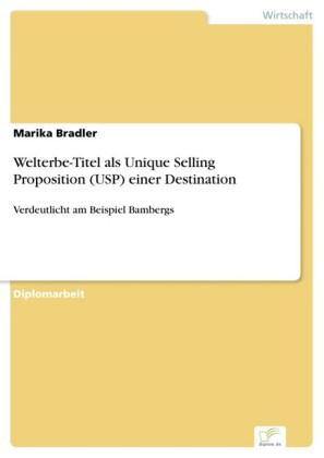 Welterbe-Titel als Unique Selling Proposition (USP) einer Destination