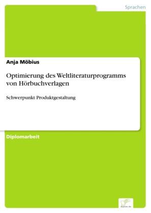 Optimierung des Weltliteraturprogramms von Hörbuchverlagen