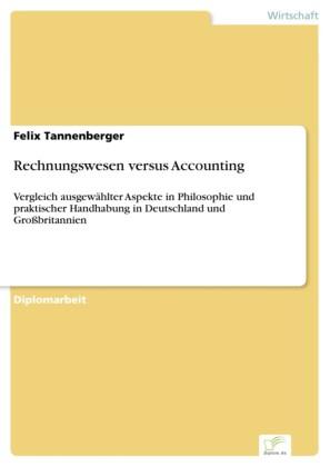 Rechnungswesen versus Accounting