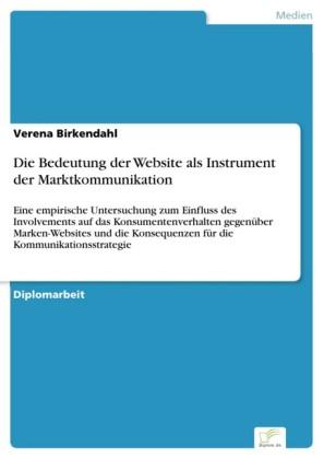 Die Bedeutung der Website als Instrument der Marktkommunikation