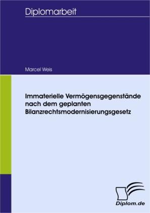 Immaterielle Vermögensgegenstände nach dem geplanten Bilanzrechtsmodernisierungsgesetz