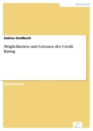 Möglichkeiten und Grenzen des Credit Rating
