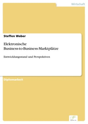 Elektronische Business-to-Business-Marktplätze