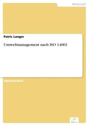 Umweltmanagement nach ISO 14001