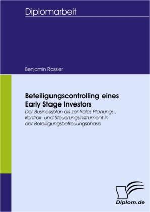Beteiligungscontrolling eines Early Stage Investors
