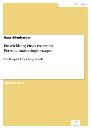Entwicklung eines externen Personalmarketingkonzepts