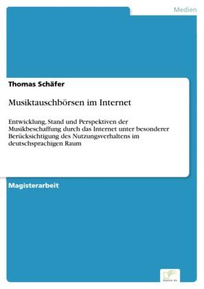 Musiktauschbörsen im Internet