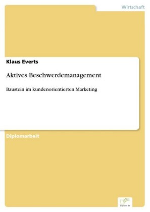 Aktives Beschwerdemanagement