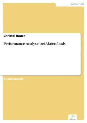 Performance-Analyse bei Aktienfonds