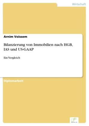 Bilanzierung von Immobilien nach HGB, IAS und US-GAAP
