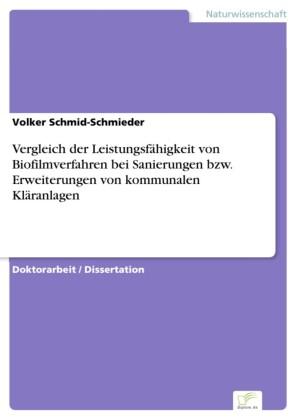 Vergleich der Leistungsfähigkeit von Biofilmverfahren bei Sanierungen bzw. Erweiterungen von kommunalen Kläranlagen