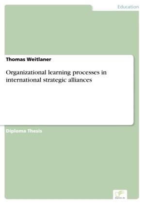 Organizational learning processes in international strategic alliances